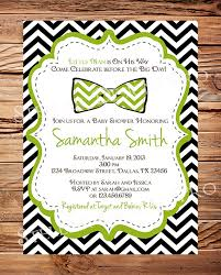 bow tie baby shower baby shower invitations bow tie ba shower invitation