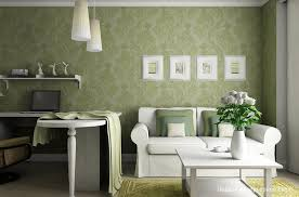 Wallpaper Interior Design Living Room Wallpaper At Small Apartment Interior Design By Artem