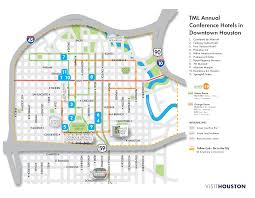 Austin Convention Center Map by Housing Information Tml Conference