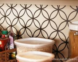 Kitchen Backsplash Wallpaper by Vinyl Backsplash Etsy
