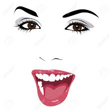 resuma el arte de feliz hermosa mujer joven y sonriente con la