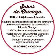 taste of chicago map city of chicago taste of chicago