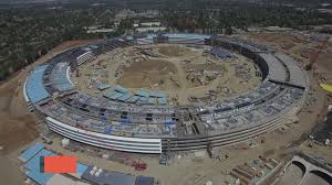 spaceship campus apple apple adds more buildings solar to campus 2 business insider