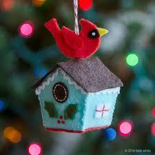 2016 stitch along ornament club 1 birdhouse betz white