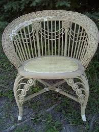 Antique Chair Repair Antique Wicker Furniture 101 History Repair Tips
