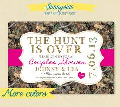 Couples Wedding Shower Invitations Camo Shower Invitations And Save The Dates Staying On The Sunnyside
