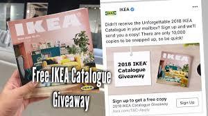 ikea mailbox 2018 ikea catalogue hardcopy giveaway get it free