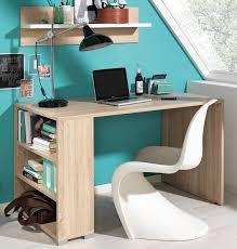 Schreibtisch 90 Cm Breit Wellemöbel Teenio Schreibtisch Jugendzimmer 160 Cm Wildeiche Weiß