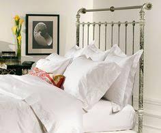 Iron Sleigh Bed Iron U0026 Brass Sleigh Bed Vintage White Same Idea No Mattress