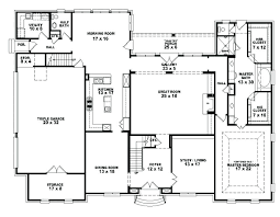 ranch home floor plans 4 bedroom bedroom house plans 4 bedroom open affordable 4 ranch six split