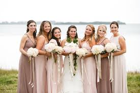 informal shabby chic vintage pink bouquet fall florida wedding