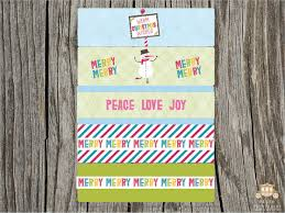 free printables best downloadable christmas cards labels art
