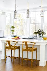 Farmhouse Pendant Lights by A Modern Farmhouse In Cumberland Maine Rue Kitchens