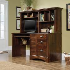 Metal Computer Desk With Hutch by Harbor View Computer Desk With Hutch 420475 Sauder