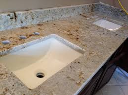 Granite Bathroom Vanity Granite Vanity Tops With Rectangle Bathroom Sink Also Bathroom