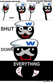 Shut Down Everything Meme - shut down everything by xxsasukexx19 meme center