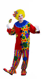 clown costumes men s big top clown costume purple green one size