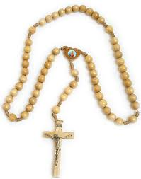 wall rosary large 35 wood bead wall rosary rosarycard net