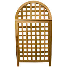 shop garden architecture 36 25 in w x 66 75 in h natural fence