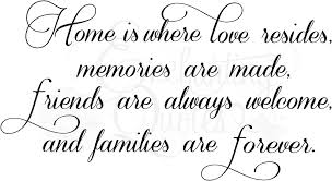 quotes about friends family and home quotes about friends being