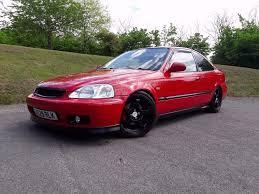 Honda Civic 2000 Specs 2000 Honda Civic Coupe Em1 Vti B18c4 Milano Red Great Spec