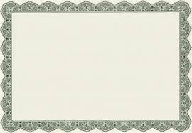 free award certificate border templates