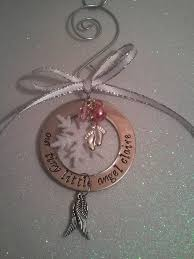 personalized birthstone ornaments 33 best christmas memorial ideas images on memorial