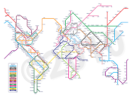 Metro In Dc Map by Metro Style World Map 1850x1310 Mapporn