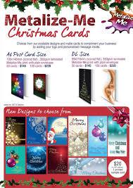 christmas card options ne wall