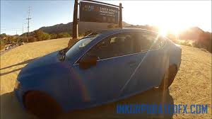 lexus of santa monica jobs plasti dip lexus is250 true blue youtube