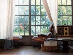 vitra lounge chair u0026 ottoman beauty versions walnut with black