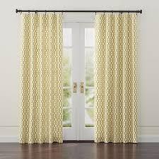 Lattice Design Curtains Gold On White Lattice Motif Creates A Bold Yet Classic Design
