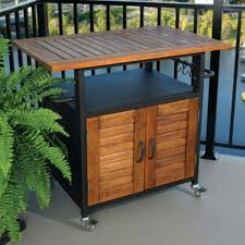 outdoor grill prep table outdoor grill prep station outdoor designs