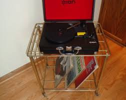 vintage record player etsy