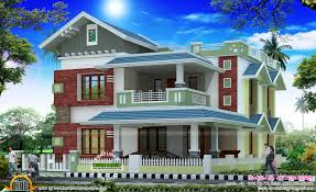 3d view plan and finished photo keralahousedesigns facilities in