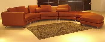 Modular Sectional Sofa Pieces Ultra Modern 4 Piece Modular Leather Sectional Sofa A94 Brown