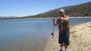 Haskins Valley Campground Sam Catches Another Trout At Lake Hemet Youtube
