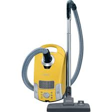 miele vaccum miele compact c1 celebration canister vacuum canary yellow