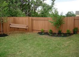 backyard fence ideas hardwood fence design interiors u pinterest
