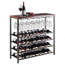 furniture metal wine racks fresh tribeca 8 bottle wall mounted