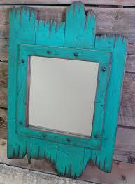 Rustic Vanity Mirrors For Bathroom by Rustic Wooden Red Barn Wood Mirror Wood By Workhorsefurniture