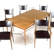 Paul Mccobb Dining Table Paul Mccobb Dining Room Table And Chairs Set Ebth
