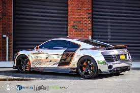 chrome gold rush r8 by ndvinyls paint is dead