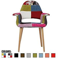 Chair Armchair Amazon Com 2xhome Multi Color Modern Upholstered Eames Style