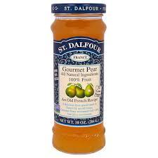 gourmet pears st dalfour gourmet pear 100 fruit spread 10 oz 284 g