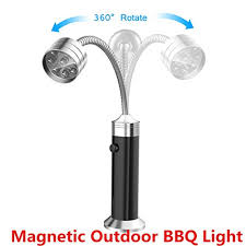 magnetic bbq grill light outdoor bbq grill light onbet led battery operated magnetic barbecue