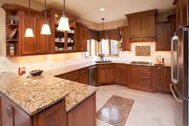 what color countertop looks best with cherry cabinets cambria berkley quartz countertops with cherry cabinets