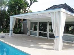 Patio Awning Metal Canvas Pool Awnings Architectural Fabric Shade Canopy