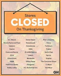 stores closed thanksgiving freebies steemit