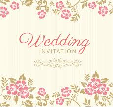 wedding invitations vector 10 free vector psd floristic wedding invitation card designs